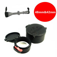 Flip up 48&42Mm Scope Lens Cover Dust-proof Caps For Dia 40mm Sight Lens Protect