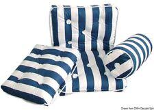 Cuscino con schienale cotone blu e bianco   Marca Osculati   24.430.24