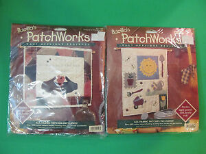 Bucilla Patchworks Kits Garden Sampler & If Only... 41148 / 41152