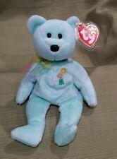 Ty Beanie Baby Ariel the Pediatric Aids Foundation Bear 2000 MWMT RARE