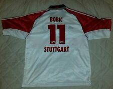 VfB Stuttgart Retro Vintage Shirt Trikot Jersey Adidas Original Bobic 1998 99