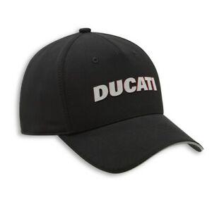 Ducati Reflex Flex Cap Hat Cap Black New 2020