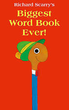 Biggest Word Book Ever by Richard Scarry (Board book, 2013)