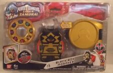 Power Rangers Super Samurai Black Box Morpher With Electronic Sounds Role Play