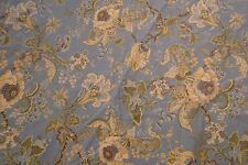 Pottery Barn Blue Green Floral Full Duvet Cover Pillow Shams Twin Size Flowers