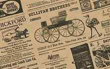Old Newspaper Newsprint Gift Wrap Tissue Paper 20 x 30 Choose Quantity-Free Ship