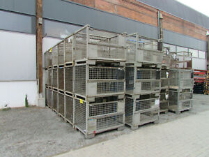 DB Gitterbox Gitterboxen tauschfähig 120x80x100cm Euro Lagerbox Industrieboxen