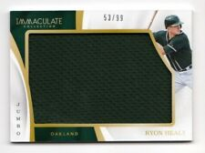 RYON HEALY MLB 2017 IMMACULATE COLLECTION IMMACULATE JUMBO MATERIALS (ATHLETICS