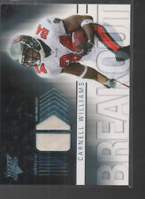 CARNELL WILLIAMS 2007 TOPPS PERFORMANCE BREAK OUT JERSEY CARD #BR-CW