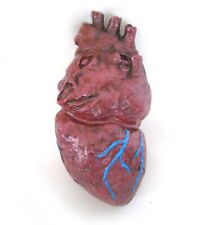 Life-size Human Heart Gory Scary Body Parts Halloween Party Prop