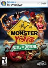 Monster Madness: Battle For Suburbia, PC Game, CD-ROM by SouthPeak New
