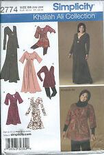S 2774 sewing pattern DRESS 3 lengths TUNIC sew Khaliah Ali sizes Queen 20W-28W
