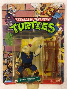 1988 Teenage Mutant Hero Ninja Turtles USAGI YOJIMBO Fig MOC!! Bandai Playmates