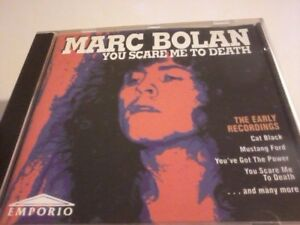 MARC BOLAN You Scare Me To Death CD Album POST FREE