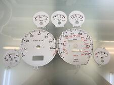 Audi 80 B4 S2 dials, esferas MPH - oem grey color *for VDO gauge clusters*