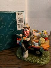 "Emmett Kelly Jr Flambro #10069 ""Dining Out"""