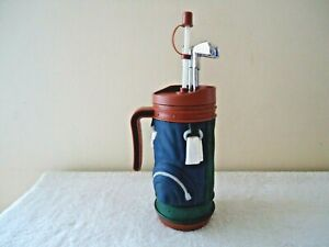 "Vintage 1996 E & B Giftware Golf Bag Themed Drinking Cup / Mug "" BEAUTIFUL ITEM"