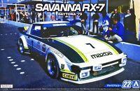 Aoshima 1/24 The Model Car(22)Kit Mazda Savanna RX-7 SA22C Daytona 24 Hours'79