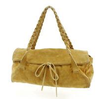 miumiu Handbag Brown Woman Authentic Used E860