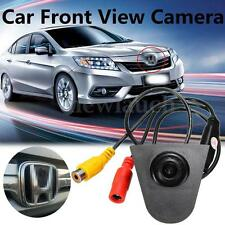 Front View CCD Camera Logo Embedded For Honda CRV accord Odyssey Spirior Civic