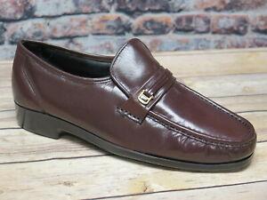 Florsheim Men's Riva Burgundy Leather Loafer   SIZE 15D  *17088-05
