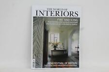 NEW THE WORLD OF INTERIORS March 2017 Fire & Icing Interior Design Magazine