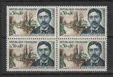 France 1966 Célébrité M. Proust Y&TN°1472 bloc 4 timbres MNH /TR7909