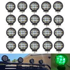 20x 4inch 27W Round LED Work Light Offroad Spot Fog Driving Truck Pickup 4x4 ATV