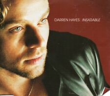 DARREN HAYES - INSATIABLE      *CD SINGLE*    INC. POSTER - SAVAGE GARDEN