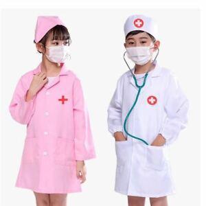TOYS FOR GIRLS  Boys Kids Pretend Play Doctor Nurse Dress Uniform Costume GIFT