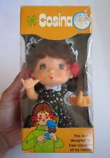 VINTAGE COSINA DOLL IN ORIGINAL BOX, BRAND NEW OLD-STOCK MADE IN HONG KONG, RARE