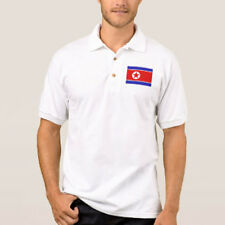 Korea Flag Mens Embroidered Polo Shirt XS-6XL, LT-4XLT New