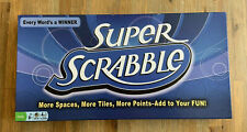 Super Scrabble Board Game 200 Tiles More Spaces 2011 100% Complete