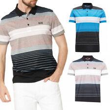 Hugo BOSS Green Hombre 50379129 Mangas Cortas Algodón Golf Polo Camiseta