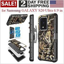 Funda Con Clip Para Cinturon Para Samsung GALAXY S20 Ultra Telefono Protector