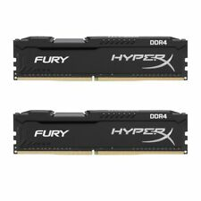 Arbeitsspeicher 16GB DDR4-RAM Kingston HyperX Fury Black Series (2x8GB) 2666MHz