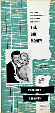 BIG MONEY 1956 Ian Carmichael, Belinda Lee, Kathleen Harrison UK PRESSBOOK