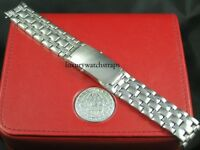 SS  BRACELET STRAP FOR OMEGA SEAMASTER PLANET OCEAN BOND 007 20mm WATCH HEAVY!
