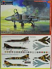 MiG-23 ML ,1:72, KP, Plastik , DDR, Irak, CZ, Neuheit