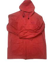 Columbia Sportswear Company Red Hooded Rain Jacket Men's Size Large