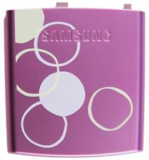 GENUINE Samsung Blackjack 2 II SGH-i617 BATTERY COVER Door PINK GRAPHIC design