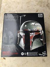 Boba Fett Electronic Helmet Mandalorian Star Wars Black Series FX TBS ....MIB