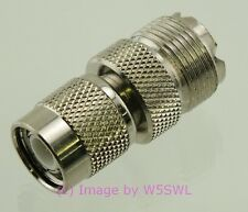 TNC Male to UHF Female Coax Adapter Connector - by W5SWL ®