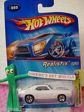 2005 #5 FE Hot Wheels '69 PONTIAC FIREBIRD T/A 1969 #005☆White variant☆First Ed