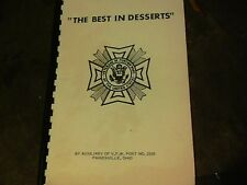 The Best in Desserts by Auxiliary of V.F.W. Post No. 2595 Painesville, Ohio s9