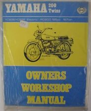 HAYNES 156 YAMAHA RD200 YCS3E YCS5E OWNERS WORKSHOP NEW
