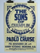 The Sons of Champlin, Pablo Cruise, Vintage Poster 1975