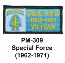 """3""""  SPECIAL FORCE(1962-1971) Embroidered Military Patch"""
