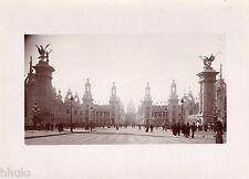 A426 Photo Citrate Original Expo Universelle Paris 1900 Vue palais céramique