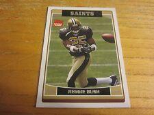 Reggie Bush 2006 Saints Topps #NO11B Jersey #25 Trading Card NFL Football Saints
